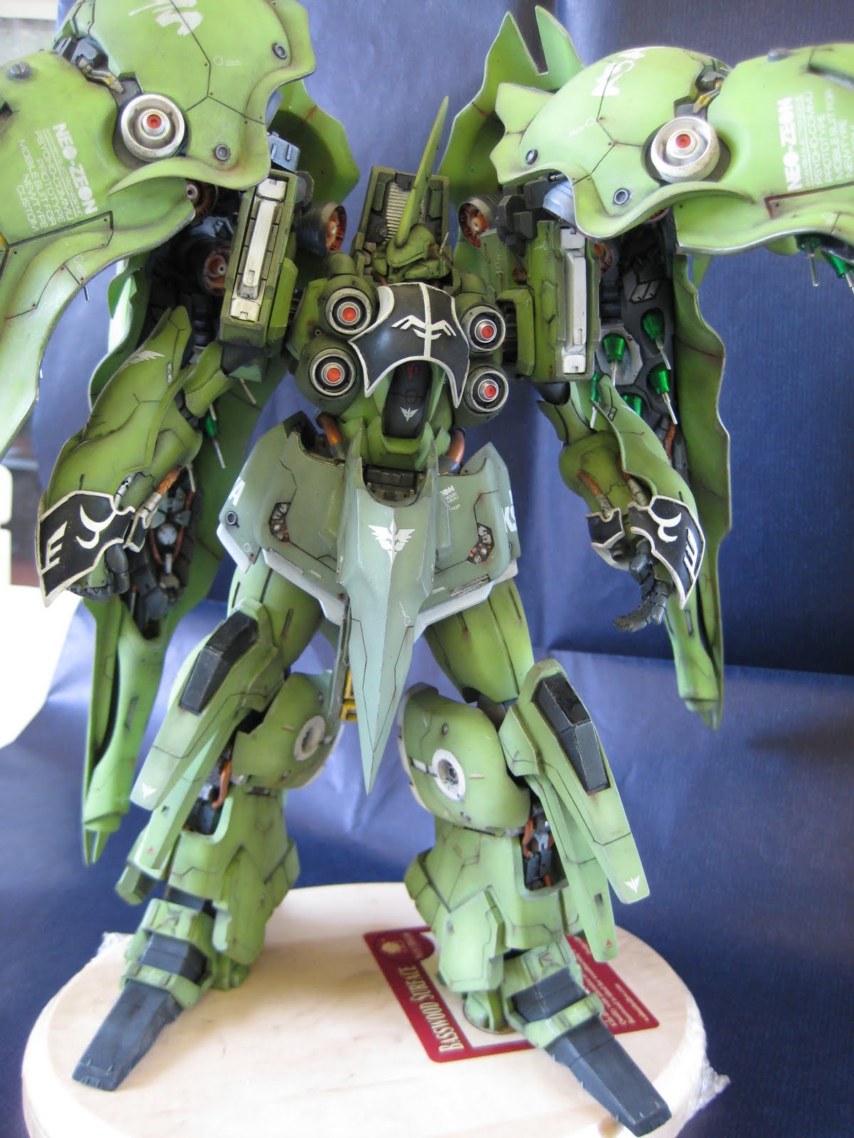 1/100 NZ-666 Kshatriya by aor_or_die | DC23mecharts
